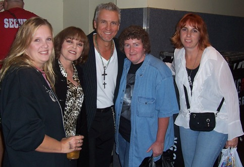 neil giraldo with fans in baltimore