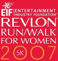 revlon run/walk logo