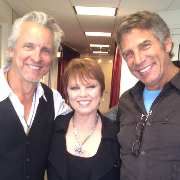 spyder giraldo and pat benatar with mark goodman