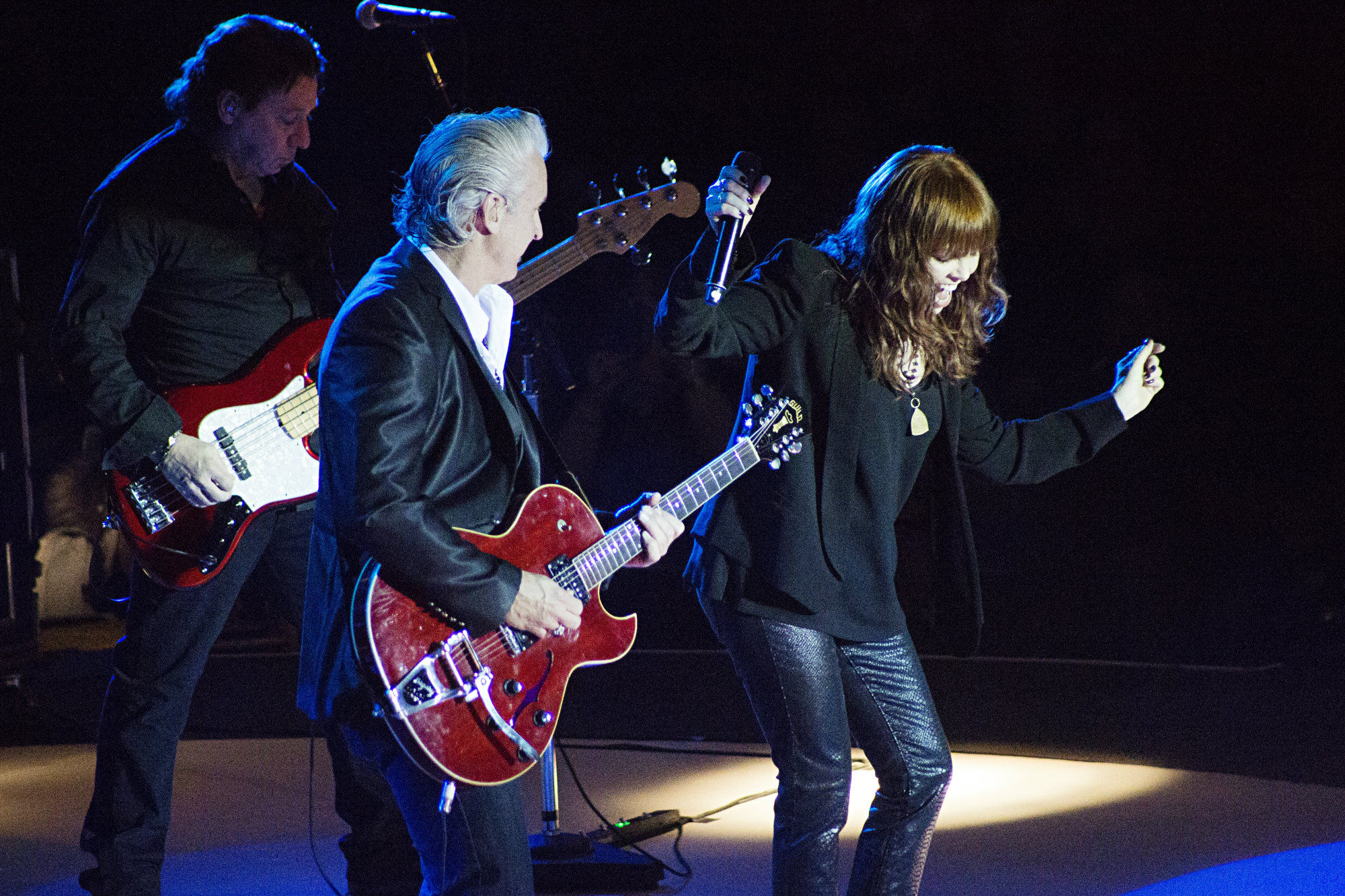 Mick Mahan, Neil Giraldo & Pat Benatar   Photo Courtesy of Laura DeSantis-Olsson