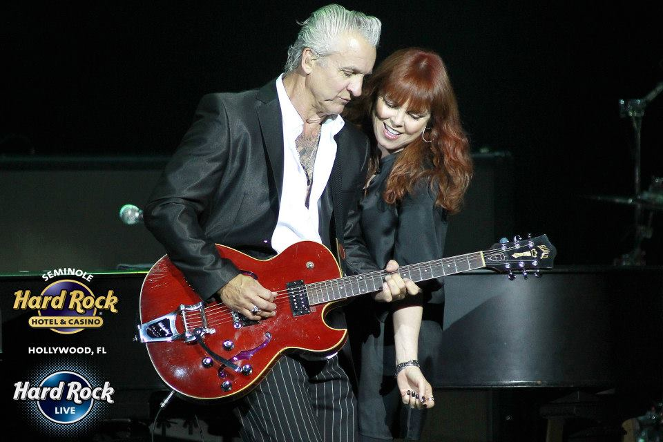 Neil Giraldo, Pat Benatar Photo credit: Ralph Notaro