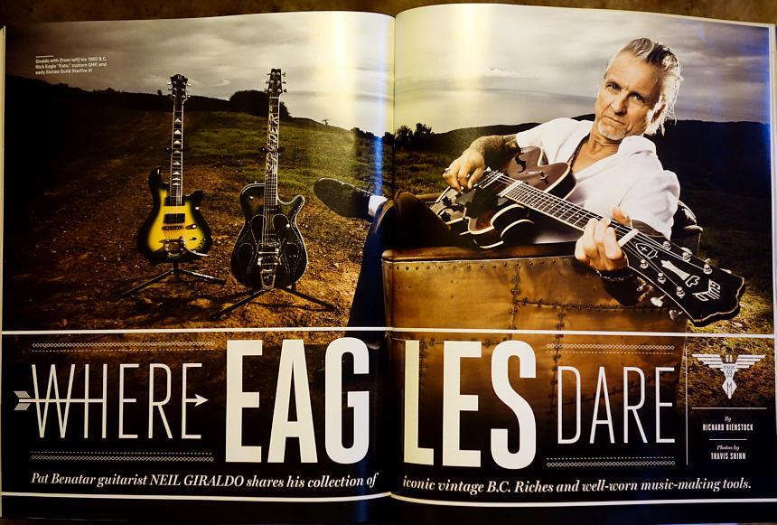 Neil Giraldo,Guitar Aficionado magazine
