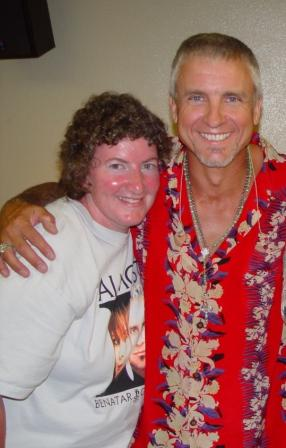 me and NEIL in Honolulu