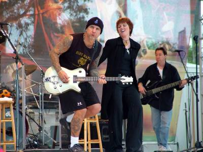 NEIL with Pat and Mick in FL