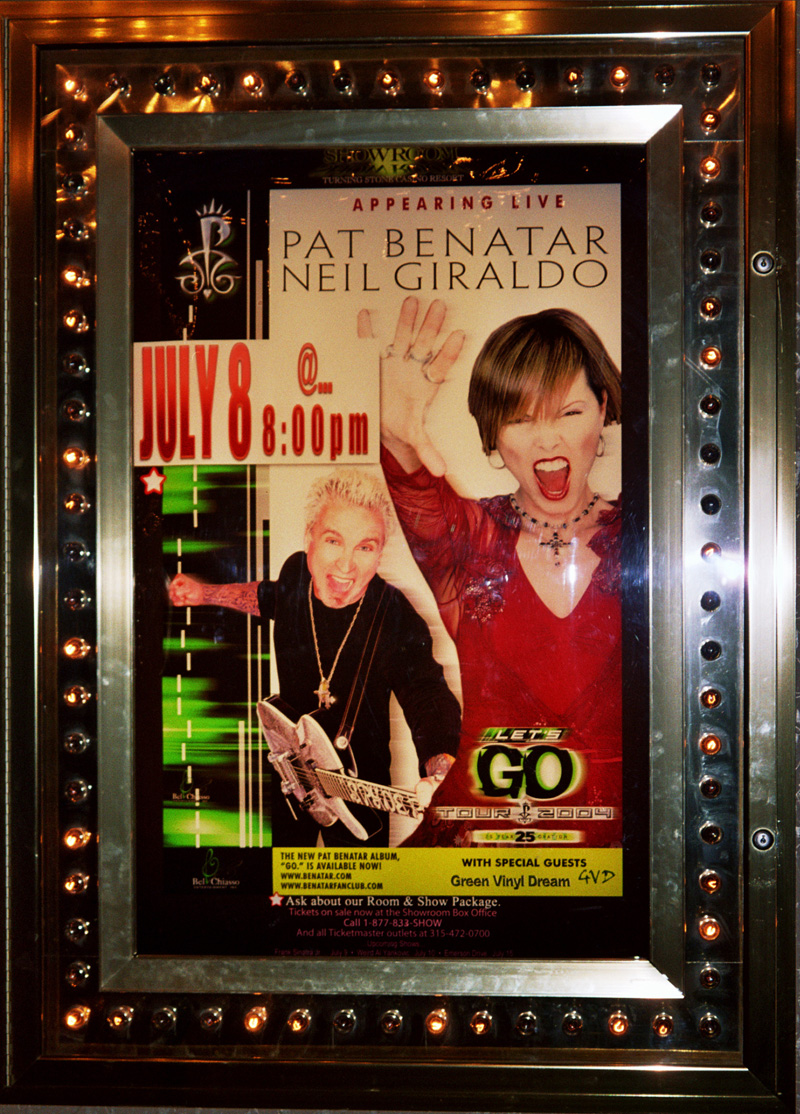 pat and NEIL verona poster