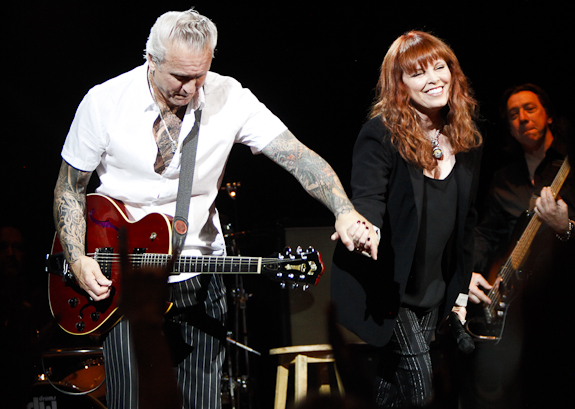 Neil Giraldo,Pat Benatar, Mick Mahan Photo credit: LIVE ROCK JOURNAL