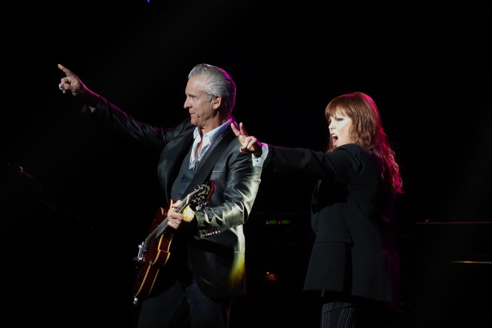Neil Giraldo, Pat Benatar photo Natalie Jones