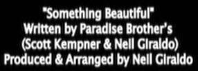 something beautiful credits
