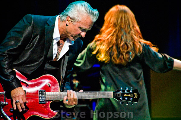 Neil Giraldo, Pat Benatar Photo by Steve Hopson