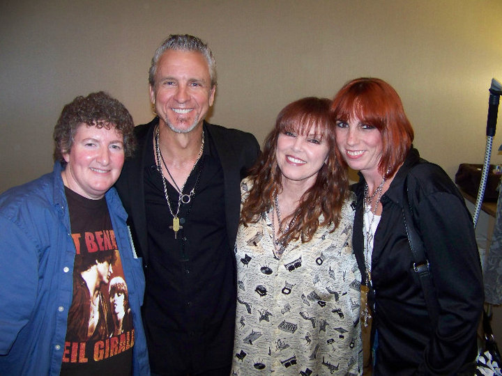 neil giraldo with robin and danielle (and pat)