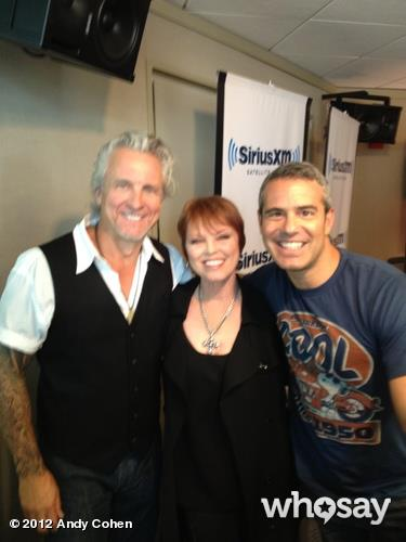 spyder giraldo and pat benatar with andy cohen