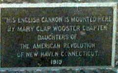 cannon plaque