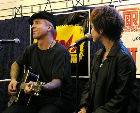 NEIL!!! and pat at j and r music world