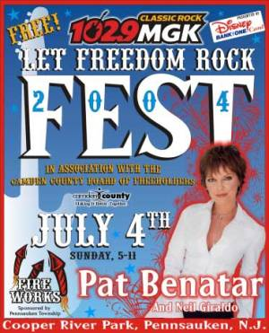 let freedom rock fest poster