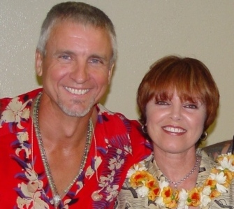 pat benatar and neil giraldo in hawaii, 2006