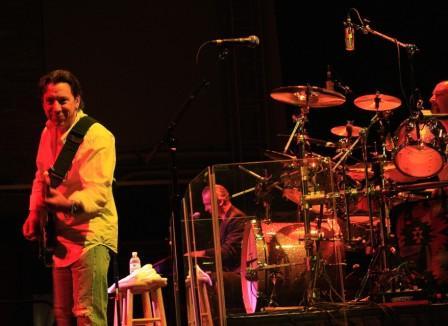 Mick Mahan, Neil Giraldo and Chris Ralles,photo by Jim Hendershot 6/24/08