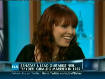 pat on joy behar