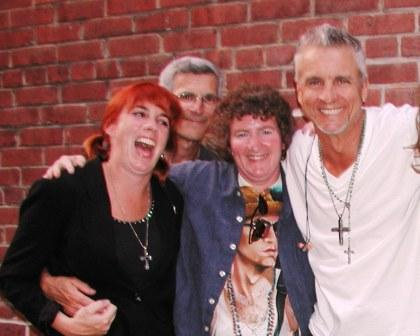 neil giraldo with danielle and robin