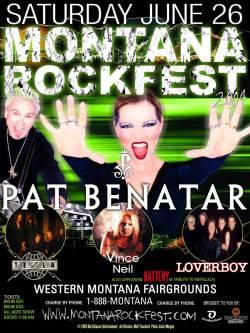 montana rock fest poster