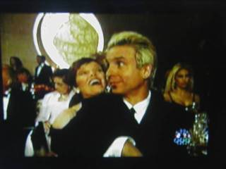 pat and NEIL!!!  at golden globes