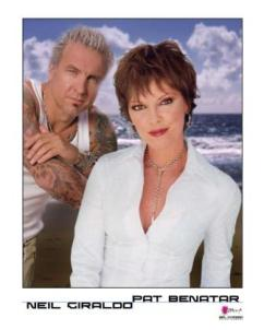 promo photo Neil Giraldo, Pat Benatar