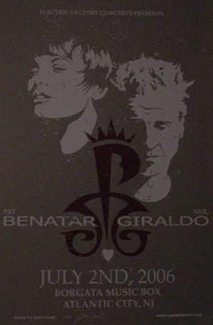 pat and NEIL borgata poster