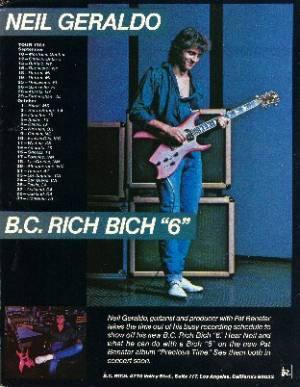 BC RICH BICH 6